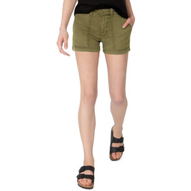 DUER Live Lite Adventure Shorts Dames, fatigues